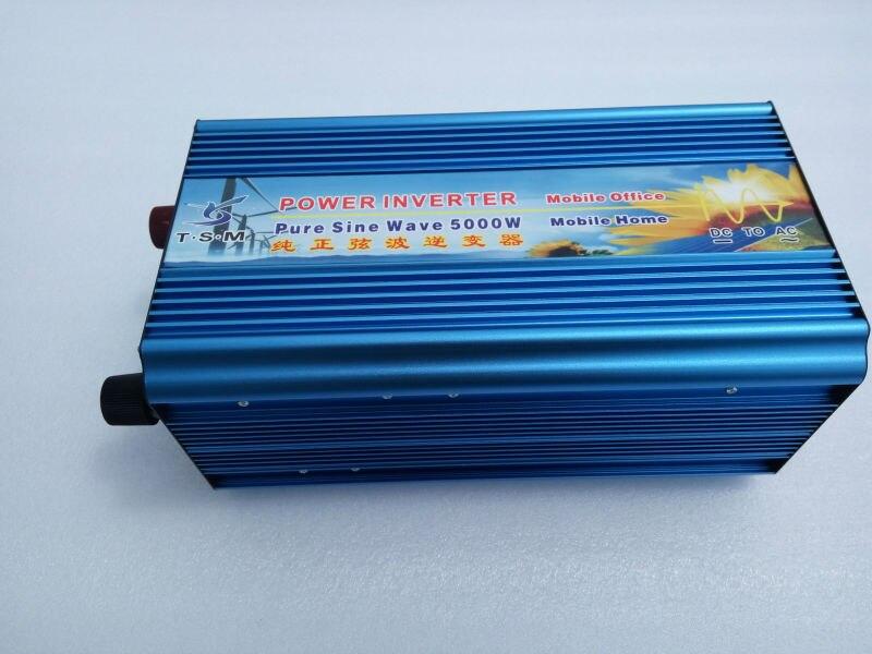 Double Digital display 500W 12/24/48v to 100/110/220/230/240V Off Grid Pure Sine wave Solar Inverter 10000W Peak power inverter digital display 5000w peak 10000w pure sine wave power inverter 24v dc to 220v 230v 240v off grid power converter solar system
