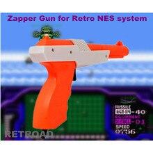 Accessoires de jeu vidéo RETROAD, nouveau pistolet léger Zapper pour NES 8bit ou jeu rétro familial, chasse au canard, allée Hogan, etc.