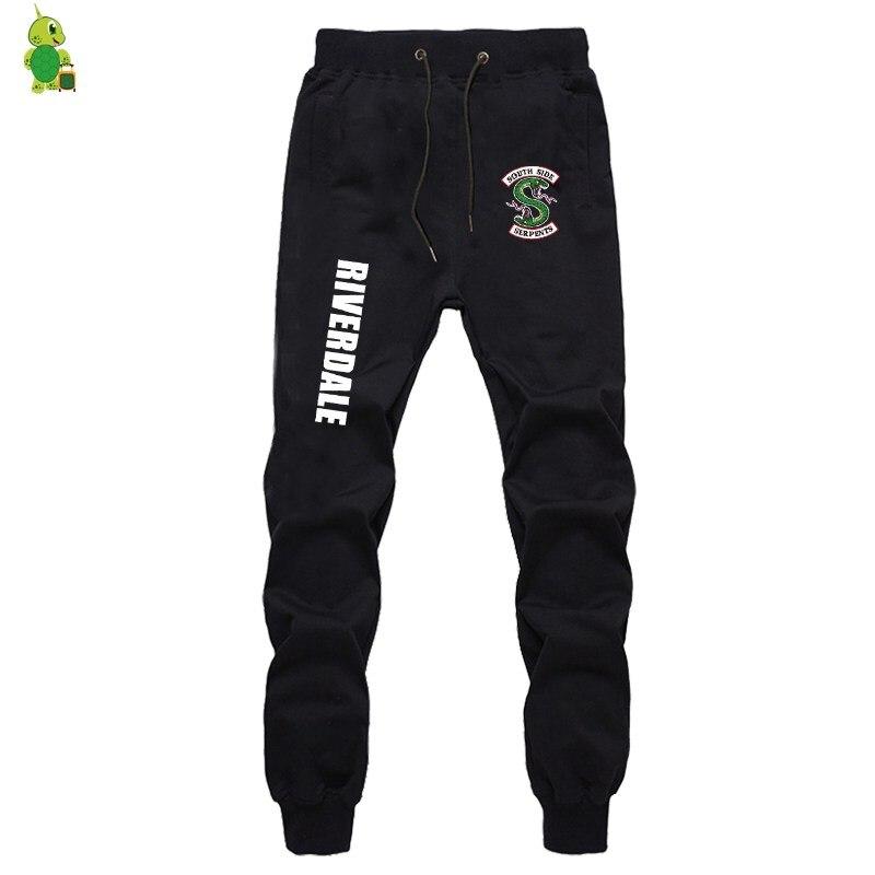 Riverdale South Side Pants Men Sportswear Pants Men Joggers Streetwear Casual Pants Bodybuilding Fitness Sweatpants Long Trouser