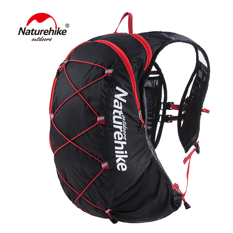Naturehike Ultralight Outdoor Running Bag Backpacks Reflective Hiking Cycling Sports Bag Waterproof Running