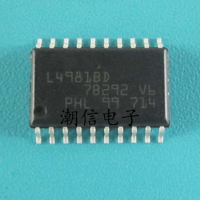 4pcs/lot L4981 L4981BD L4981B SOP-20 In Stock