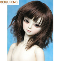 BEIOUFENG 1 3 1 4 1 6 BJD Wig High Temperature Wire Doll Wig For Dolls