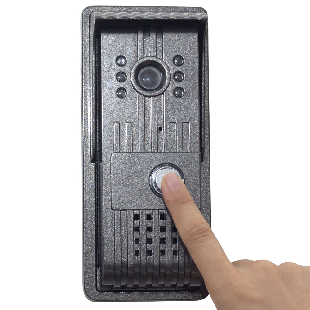 aly801 wifi video door phone intercom ip camera outdoor. Black Bedroom Furniture Sets. Home Design Ideas