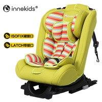 Innokids детское автокресло безопасности Isofix интерфейс Жгут Регулируемая Детская безопасность сиденье автомобиля бустер стул бренд 0 12 лет
