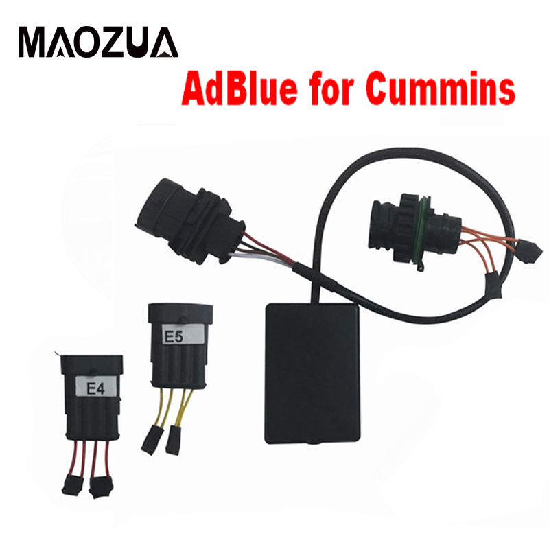 US $34 82 19% OFF|Maozua Newest AdBlue Emulator NOx sensor for Cummins Plug  and Drive Device Disable SCR System Support Euro 3&4&5 Truck Diagnost-in