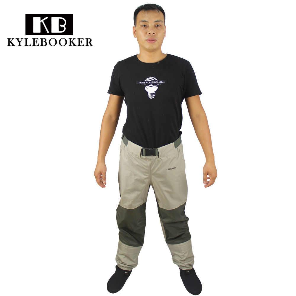 Летающие рыбацкие сапоги, штаны, дышащие, рыбалка вброд, талия, брюки, рафтинг, одежда охотничьи сапоги с неопреновыми носками, рыболовные снасти
