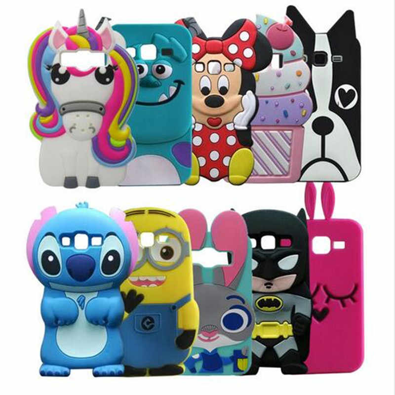 3D Cartoon Soft Silicone Case for Samsung Galaxy S6 S7 edge S8 Plus S8+ Grand Prime A3 A5 A510 A7 J3 J5 J7 2016 2017 EU Cover