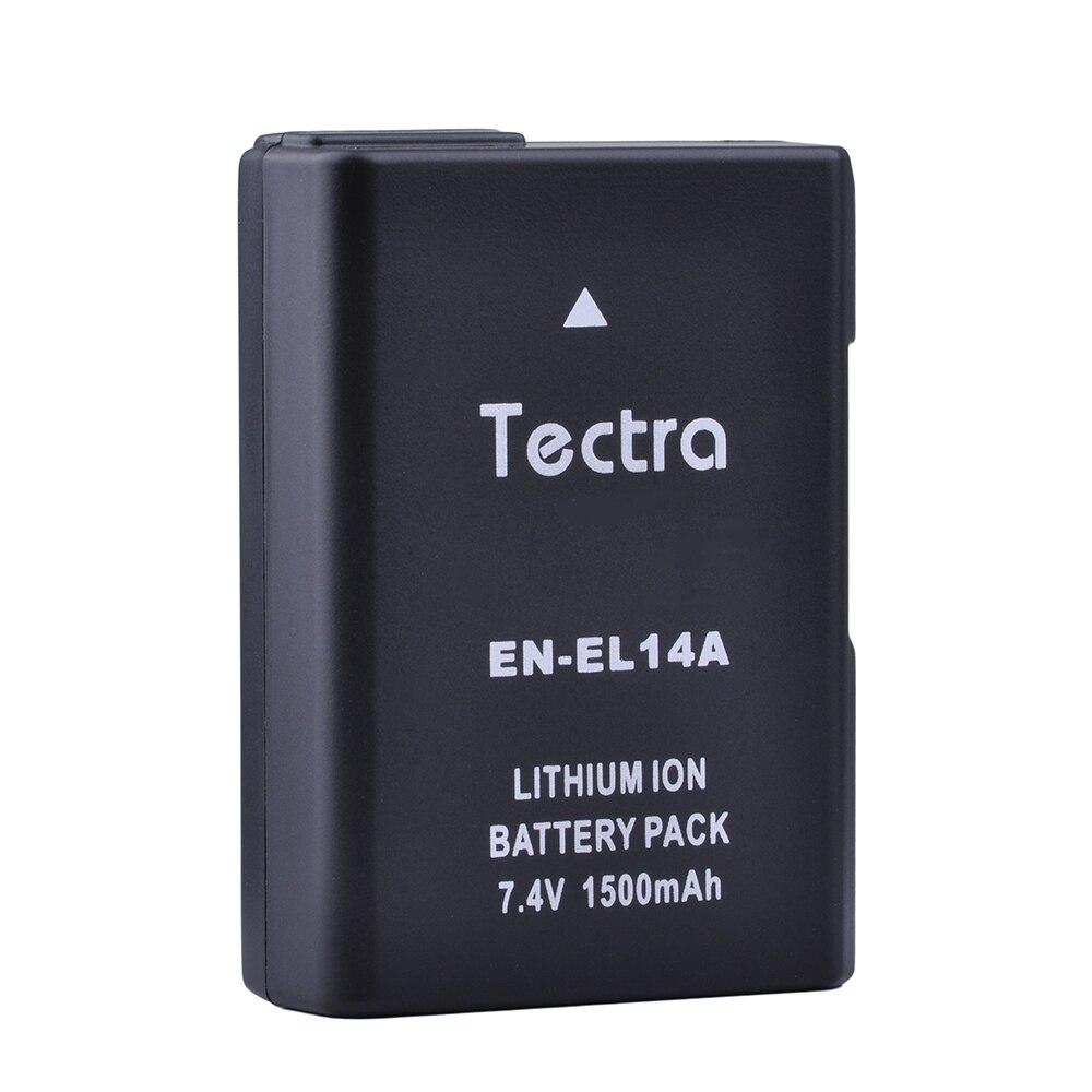1500 mAh enel14 en el14 Batterie pour Nikon P7100 D5500 D5300 D5200 D3200 D3300 D5100 D3100 D3500 P7800 EN-EL14A EN-EL14 Batterie