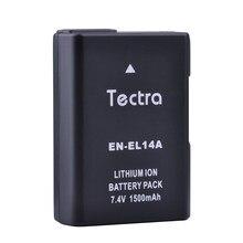 Batterie enel14 en 14, 1500mAh, pour Nikon P7100 D5500 D5300 D5200 D3200 D3300 D5100 D3100 D3500 P7800 EN-EL14A EN-EL14