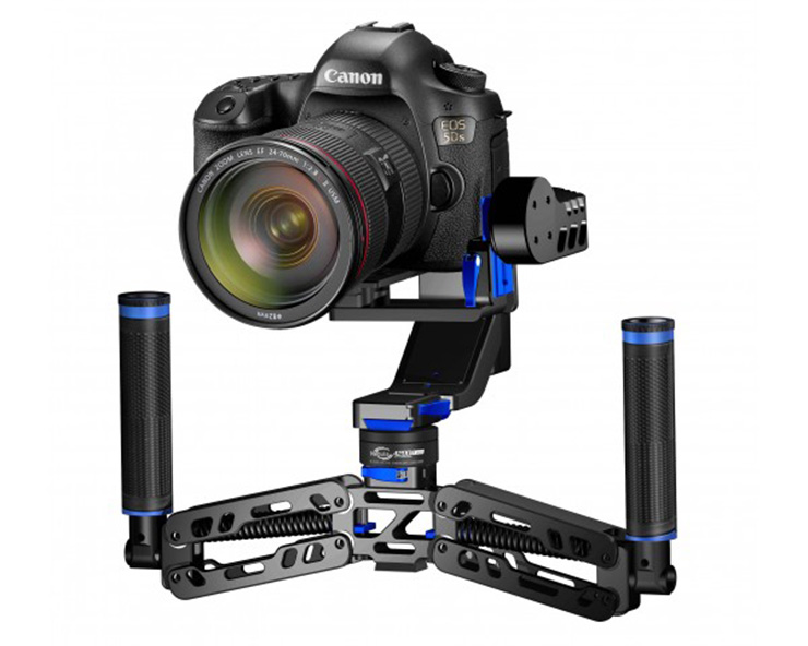 ФОТО in stock nebula 4200 5-axis gyroscope handheld brushless 32bit camera gimbal for canon 5dsr/5d3