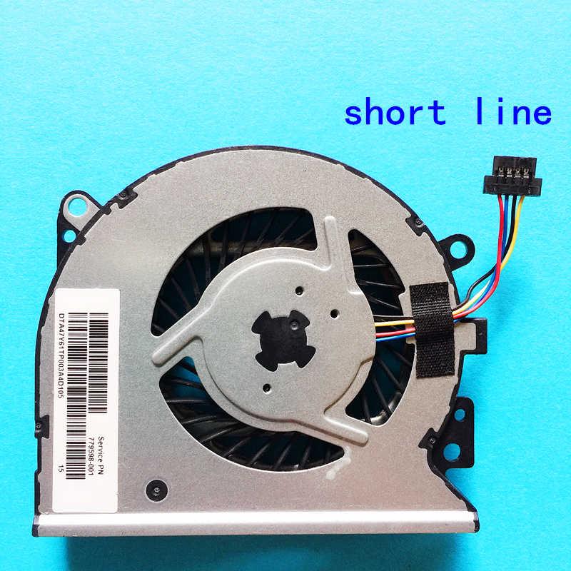 מעבד מחשב נייד חדש קירור אוהד מחברת רדיאטור עבור hp Pavilion קנאת X360 שירות PN 779598-001 KSB0705HBA07 סדרה