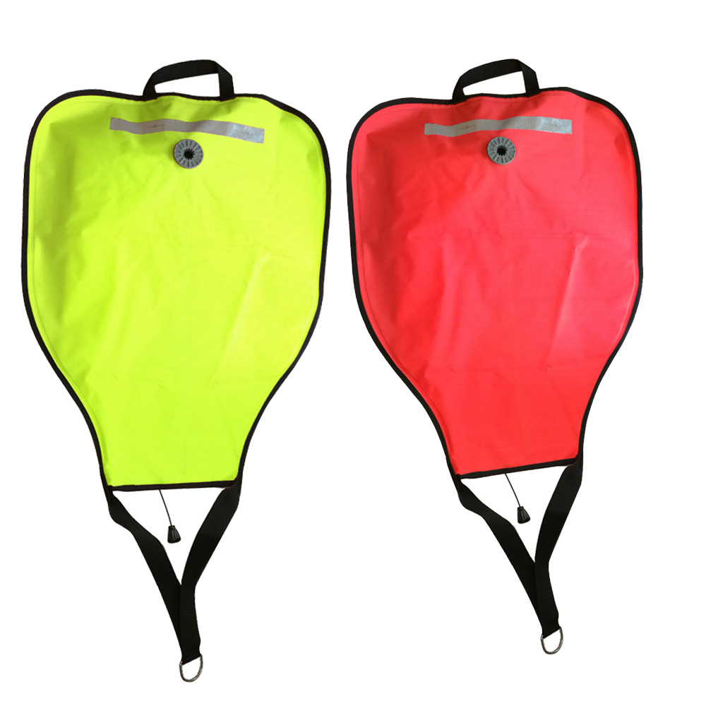 210D Nylon 50lbs Diving Lifting Bag With Pressure Relief Valve Salvage Rescue Lift Bag Gear Underwater Scuba Snorkeling