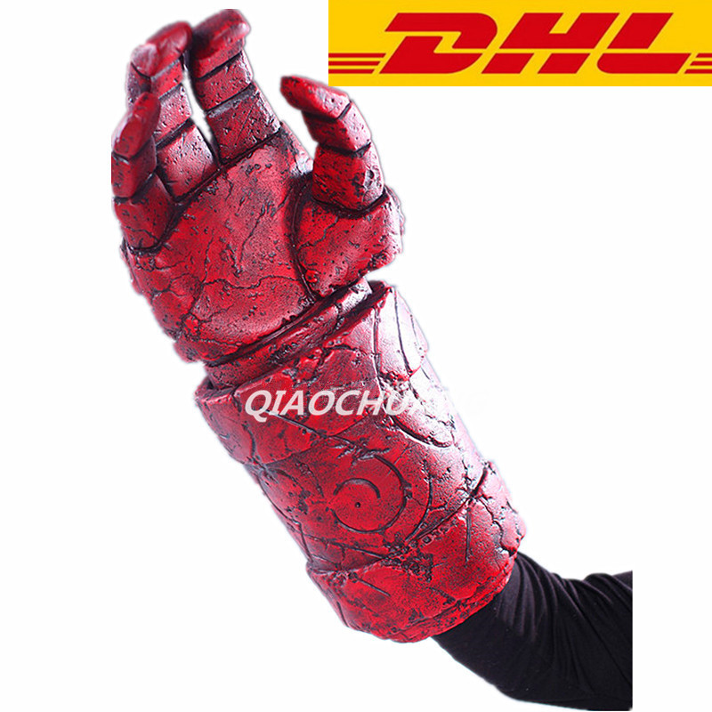 HELLBOY Giant Right Hand Anung Un Rama Right Hand Of Doom Arms Hellboy Animated Cosplay Weapon Resin Collectible Model Toy W257 4pcs positive earth blue ba7s led dashboard gauge warning switch bulb 12v red white green amber glb281