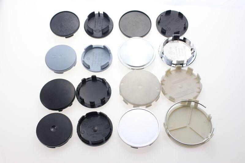 Venta al por mayor en blanco sin Logo insignia Centro gorras para llantas  accesorios de coche tapa de rueda Base de plástico para Volkswagen Ford  MINI KOM ... 41fe271a02b
