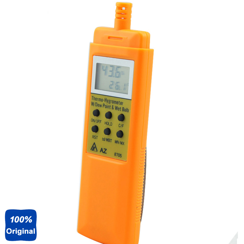 AZ8705 Hygrometer Temperature and Humidity Meter Tester az8705 hygrometer temperature and humidity meter tester