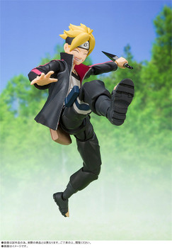 SHFiguarts Anime Naruto Boruto Uzumaki 14cm Action Figure Toys