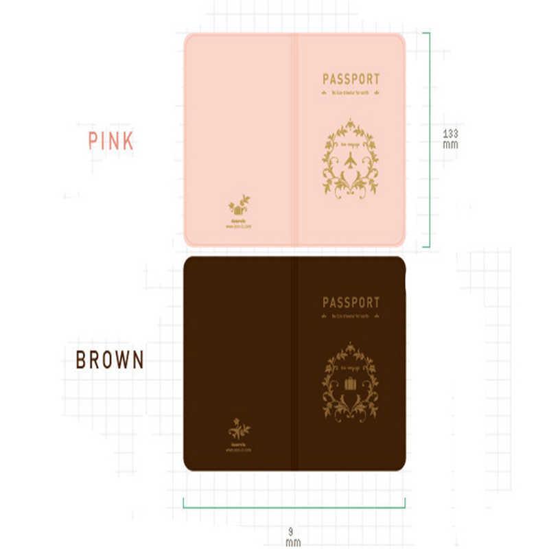 Nuevo patrón de Clip de pasaporte de amantes de la moda y juegos multifuncionales de pasaporte de viaje portadores de tarjetas y portadores de identificación