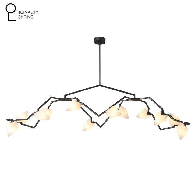 Seed Chandelier 12 Lights Modern Light Lighting Led G9 Bulb Lamp Art Deco Pendant