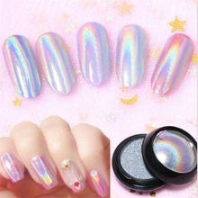 Glitter-Powder Nail-Art-Decorations Starry Holographic New Laser Dust-Manicure