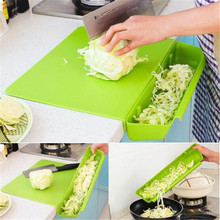 New 2 in 1 Non-slip Foldable Cutting Mat Chopping Board Cut Fruit Board Portable Camping Antibacteria Kitchen Gadget Tools Hot