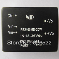Free Shipping DC DC Converters 24V Step Down To 5V 20W Isolated Dc Dc Modules Power