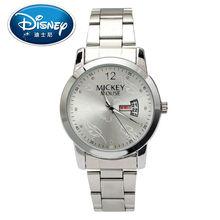 2017 Disney Kids Watch Children Watch Casual Fashion Cool Quartz Wristwatches Boys Leather clock