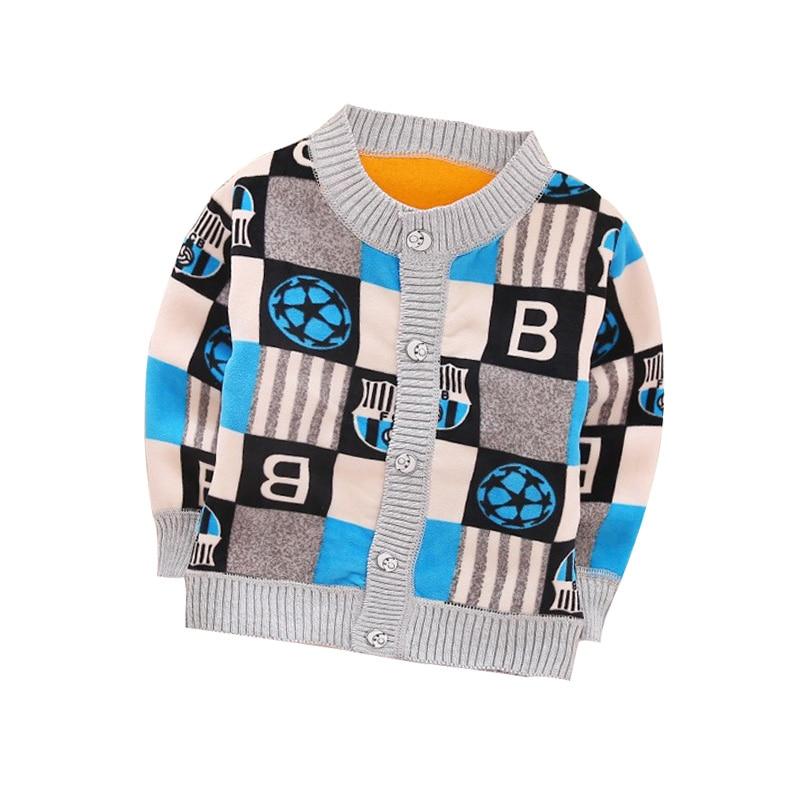 2017 Autumn / Winter new Plus velvet warm Long sleeve 12 styles Baby Sweater 0-2 year children boy girls sweater Children Wit