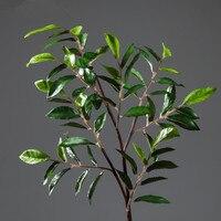 Athena Olive Branch Derlook alta flores artificiales plantas de olivo verde Nórdica moda del todo-fósforo de interior plantas de flores artificiales