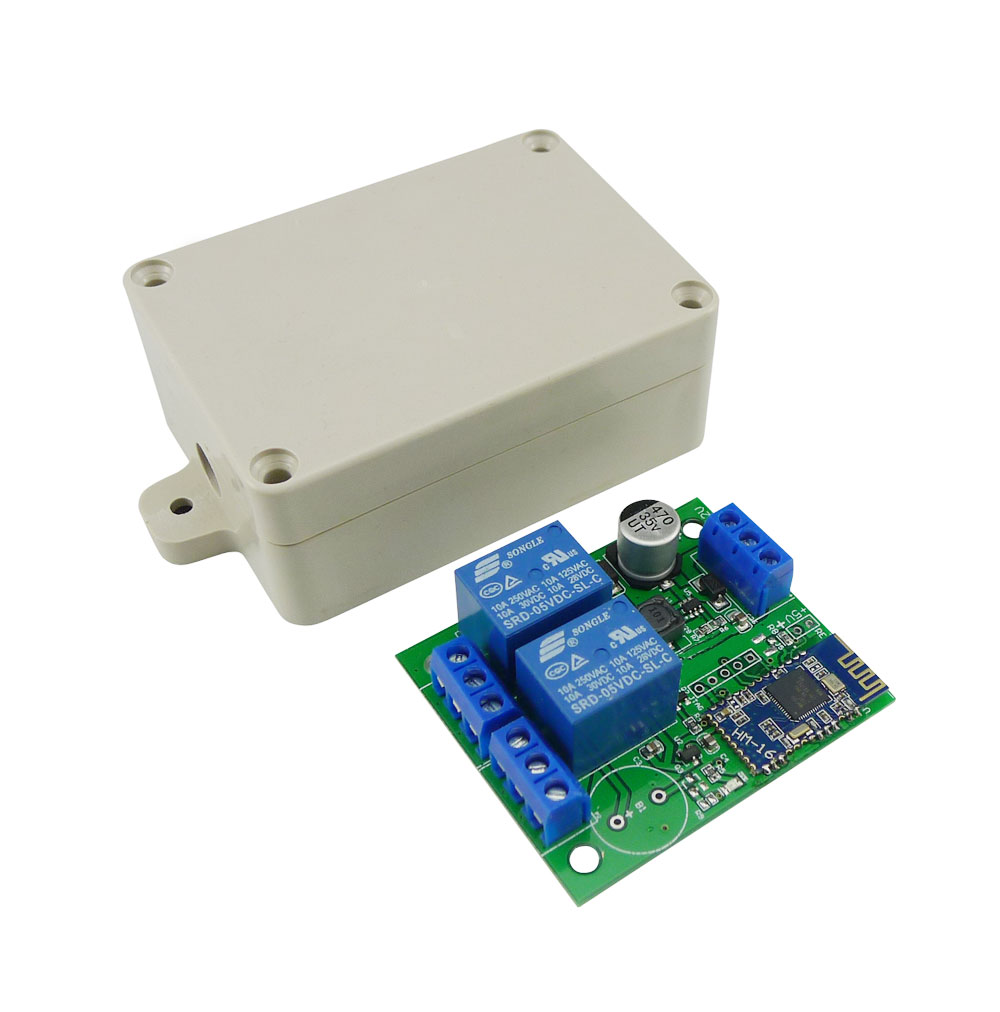 Switch] Aihasd 2 Channel Relay Module Bluetooth 4 0 BLE Switch For