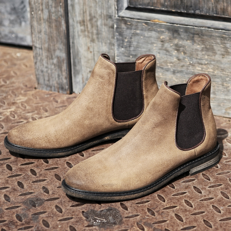 fde37e4fcc8a MYCOLEN New Popular Chelsea Boots Minimalist Design Genuine Leather Men  Autumn Winter Boot Ankle Boots Fashion Men S Boots-in Chelsea Boots from  Shoes on ...