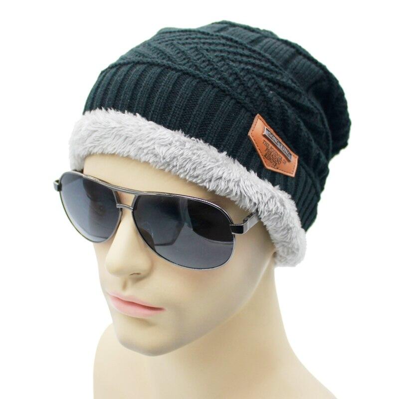 new Men's Winter Bonnet Winter Hats For Men Beanie Fur ...