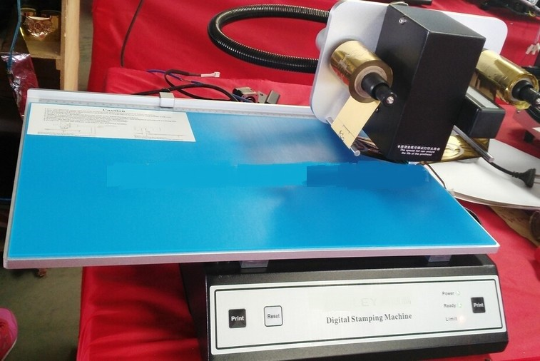 Gold foil printer, hot stamping machine, finger print adl 3050a