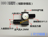 B50z type valve --short
