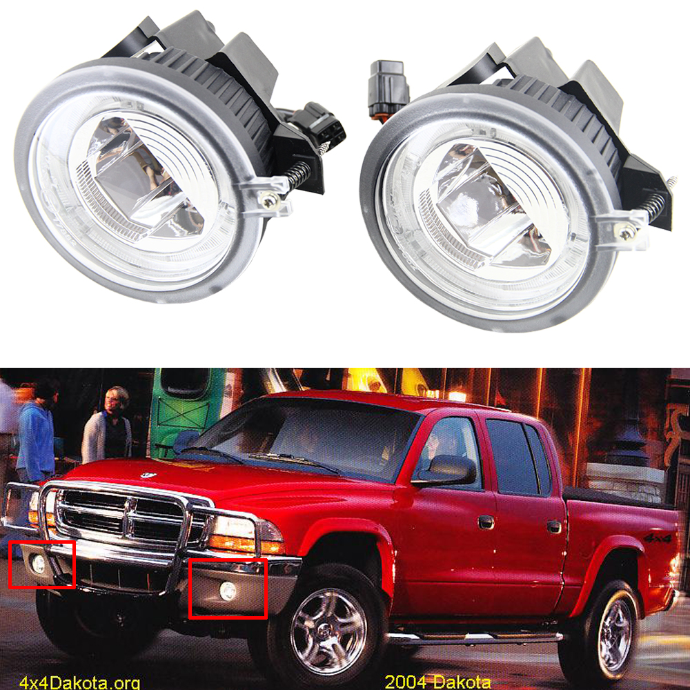 2x Driver  Passenger Side Oe Replacement Fog Light Assembly