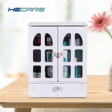 HECARE Europe Make Up Organizer Plastic Rangement Maquillage for Storage Cosmetic Desk Cosmetics Jewelry Boxes New