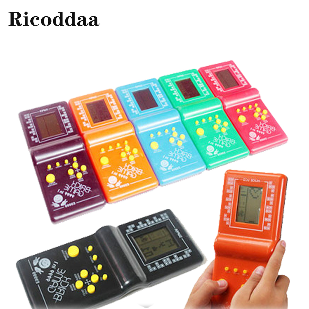 Childhood Reminiscence Classical Tetris Brick Game Handheld Game Machine Kids Game Machine Mini Toys Best Gift For Children