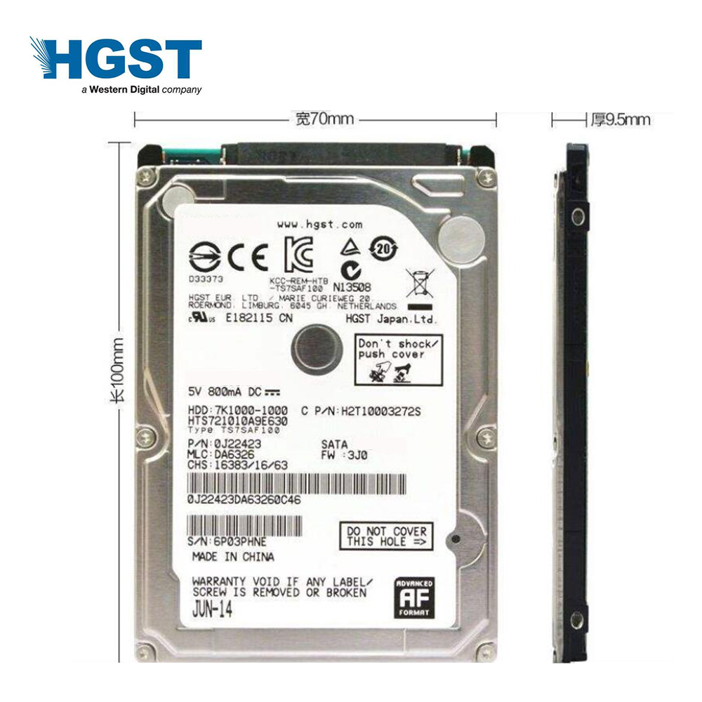 Buy Hgst Brand Laptop Pc 25 250gb Sata2 Sata3 Hardisk 250 Gb Seagate Sata 160mb S Notebook Hdd Hard Disk Drive 2mb 8mb 5400rpm 7200rpm From Reliable Internal
