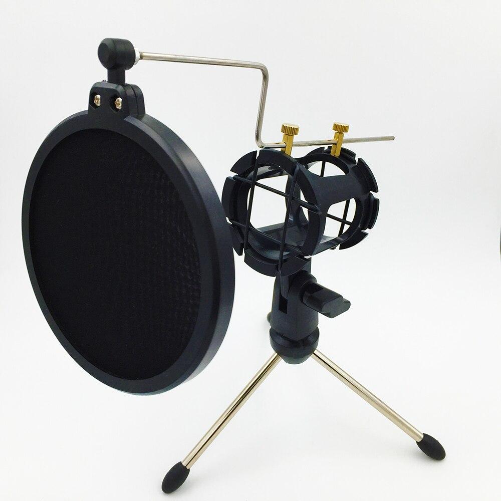 Pop Filter Ps-05 Microfono Verstelbare Bureaublad Statief Studio - Draagbare audio en video - Foto 5