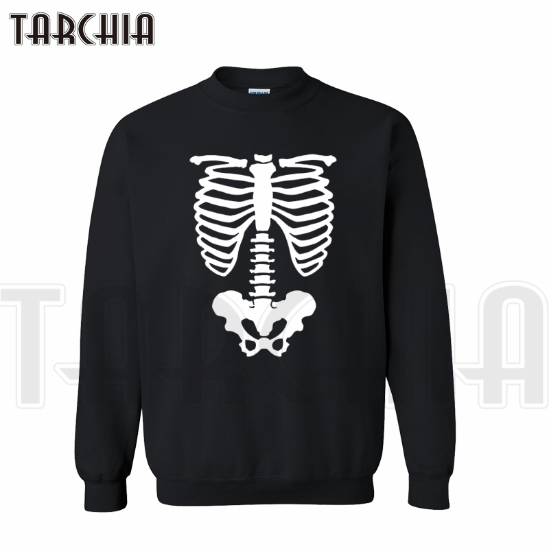 TARCHIA New Fashion Brand 3D print bone hoodies free shipping hot selling cheap sweatshirt man casual survetement homme boy wear