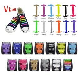 1847a7af215 16 unid/set nuevo Unisex adulto Atlético corriendo corbata zapatos de  encaje elástico de silicona