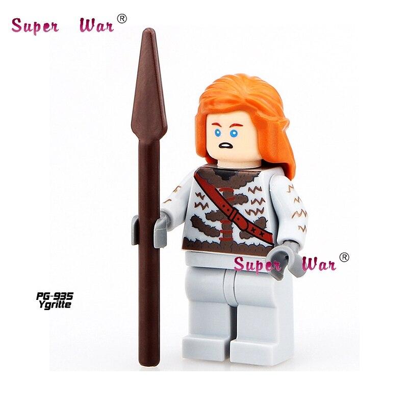 20pcs star wars superhero marvel Game of Thrones Ygritte building blocks action figure bricks model educational diy baby toys