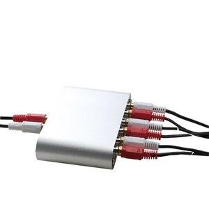 Image 2 - Lusya 3 Ingresso 1 Uscita/Ingresso 1 3 Uscita RCA Audio Selettore di Segnale di Ingresso Interruttore A Distanza Per Amplificatore con a distanza di Controllo D1 003