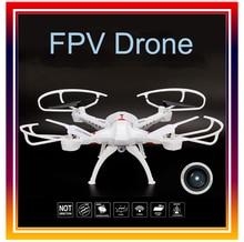 WIFI FPV Quadcopter RC Drone Télécommande Hélicoptère UFO avec 0.3MP Caméra Téléphone Contrôle Sans Tête Mode Avions fot formation