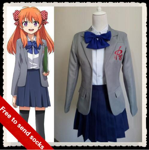 GANGAN ONLINE anime clothes Sakura Chiyo cosplay costume ...