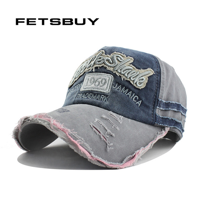 db8feed583f FETSBUY High Quality Fashion Cotton Women Baseball Cap hats for men  Snapback Letter 1969 Embroidery Fitted Casquette Sun Hat