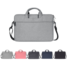 Çok fonksiyonlu laptop çantası kol taşıma çantası için kayış ile MacBook HP Samsung Acer Asus Dell Lenovo dizüstü 13 14 15 inç