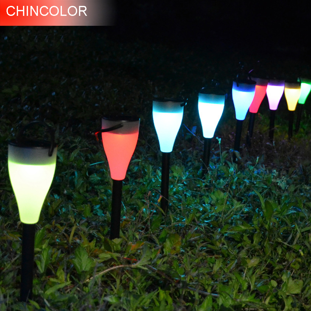 led solar light outdoor lighting lampada street garden light powerful lamp solar garden lights for garden decoration DA