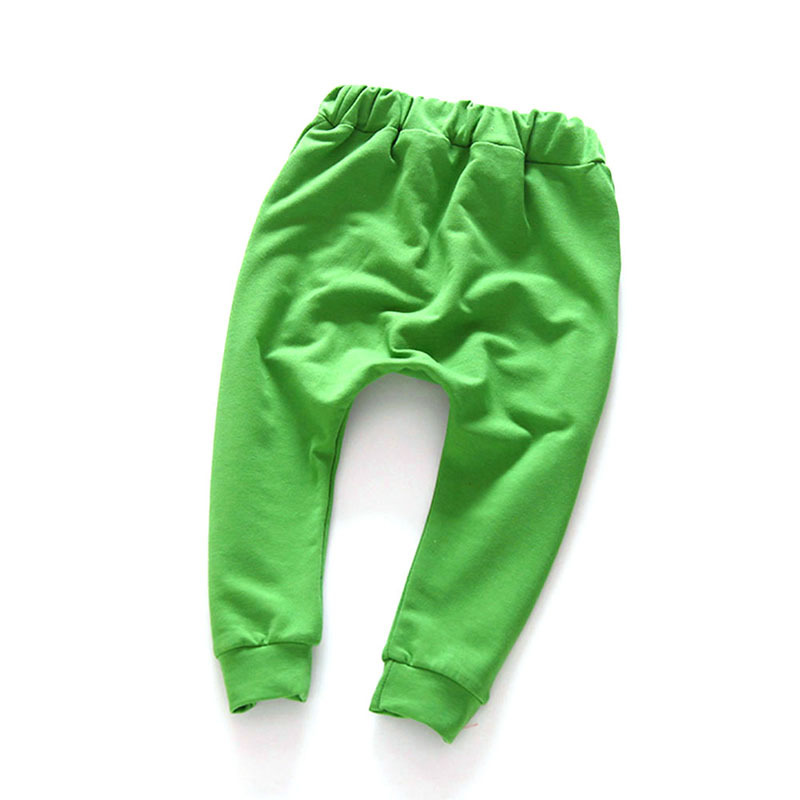 Toddler Kids Baby Boy Girl Harem Pants Child Trousers Slacks Bottom 2-7Y