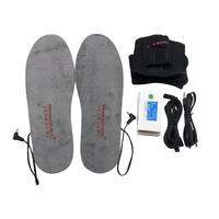 Outdoor Electric Heated Insoles Rechargeable Battery Winter Keep Warm Heater Unisex Insole for Shoes