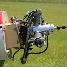 Сайто двигатели FG-33R3 33cc 3-цилиндровый бензиновый радиальные двигатель для радиоуправляемый самолет вертолет самолет Свеча зажигания